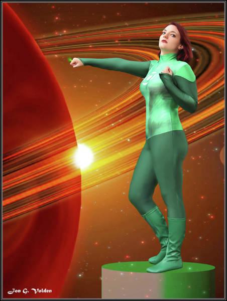 Photograph - Dawn Of The Green Lantern by Jon Volden