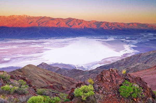 Wall Art - Photograph - Dawn Over Death Valley From Dante's by Russ Bishop