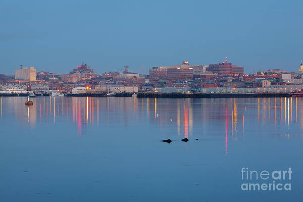 Photograph - Dawn - Portland, Maine  by Erin Paul Donovan