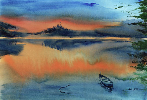 Painting - Dawn To Dusk by Anil Nene