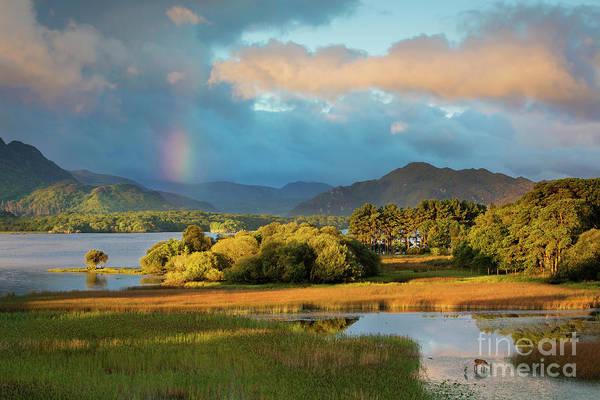 Photograph - Dawn View Over Lough Lean by Brian Jannsen