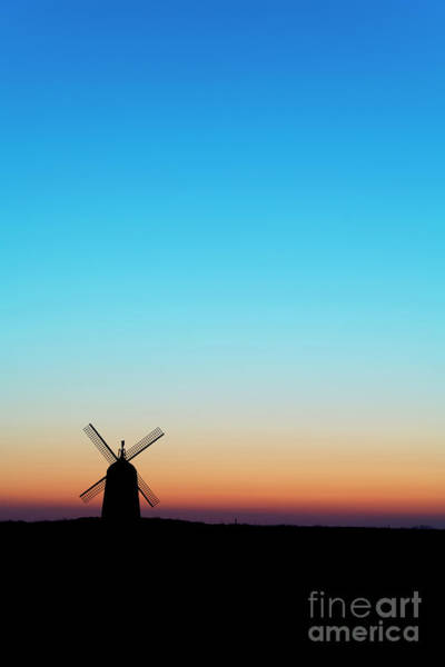 Wall Art - Photograph - Dawn Windmill by Tim Gainey