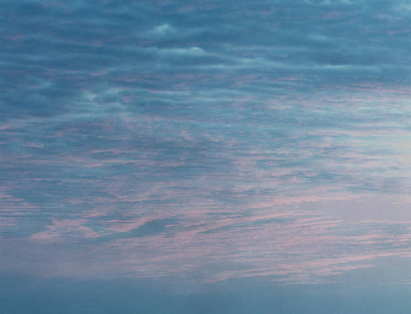 Photograph - Dawn With Orange And Grey Clouds by John Humble