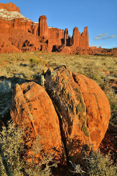 Photograph - Day Comes To A Close At Fisher Towers In Utah by Ray Mathis
