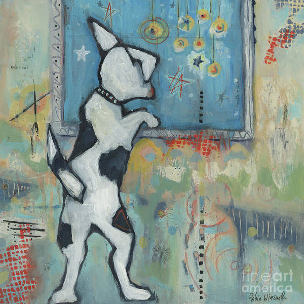 Wall Art - Painting - Day Dreaming by Robin Wiesneth