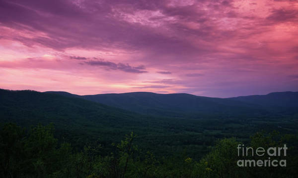 Photograph - Day Is Done In The Blue Ridge by Rachel Cohen