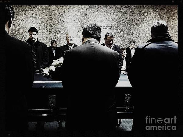 Photograph - Day Of Interment by Frank J Casella