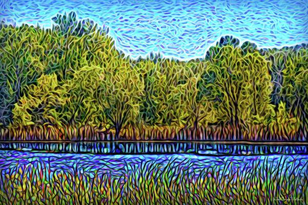 Digital Art - Day Of Reflections by Joel Bruce Wallach