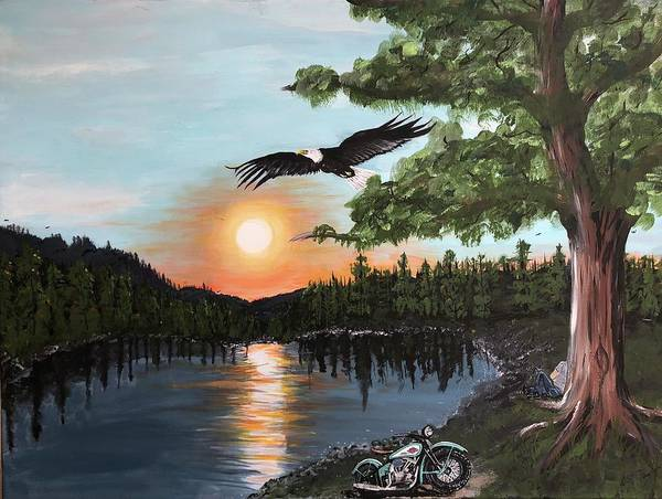 Wall Art - Painting - Day Ride by Kimberly Taylor