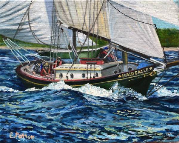 Wall Art - Painting - Day Sailing by Eileen Patten Oliver