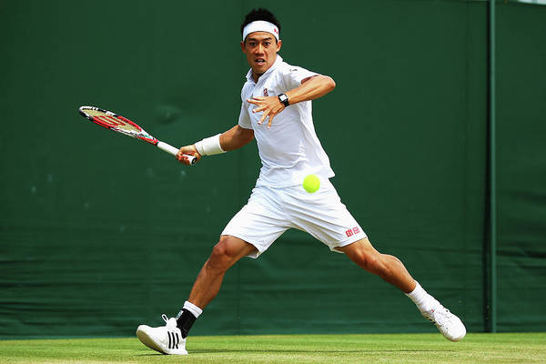 Tennis Photograph - Day Seven The Championships - Wimbledon by Al Bello