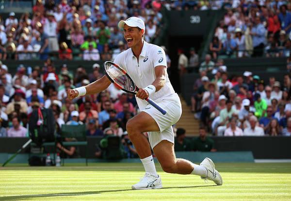 Tennis Photograph - Day Six The Championships - Wimbledon by Ian Walton
