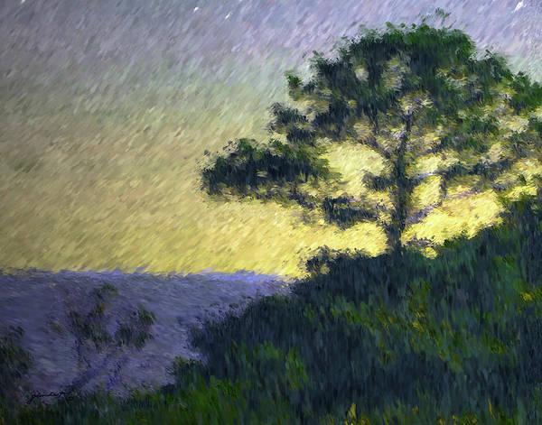 Painting - Daybreak by Gerlinde Keating - Galleria GK Keating Associates Inc