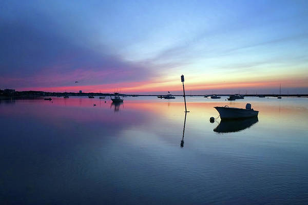 Photograph - Daybreak Provincetown Harbor by David Posey