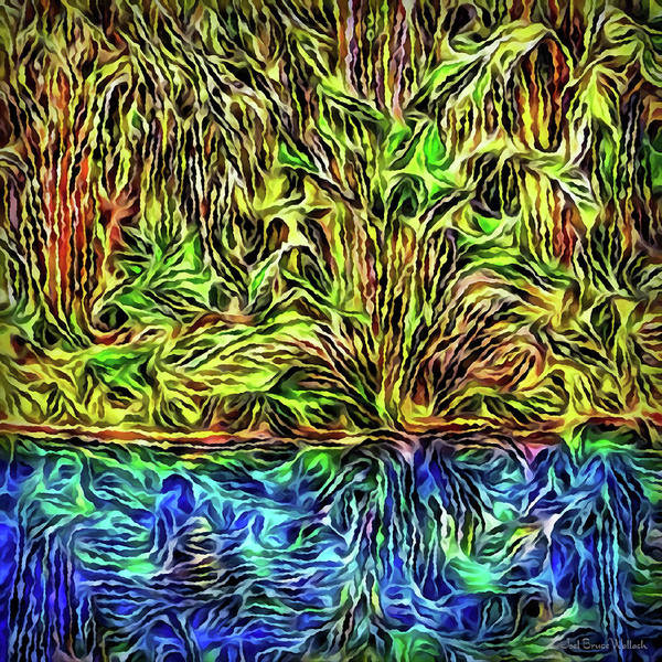 Digital Art - Daydream By The Waters by Joel Bruce Wallach