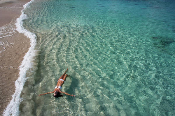 British Virgin Islands Photograph - Daydream Floating by M Swiet Productions