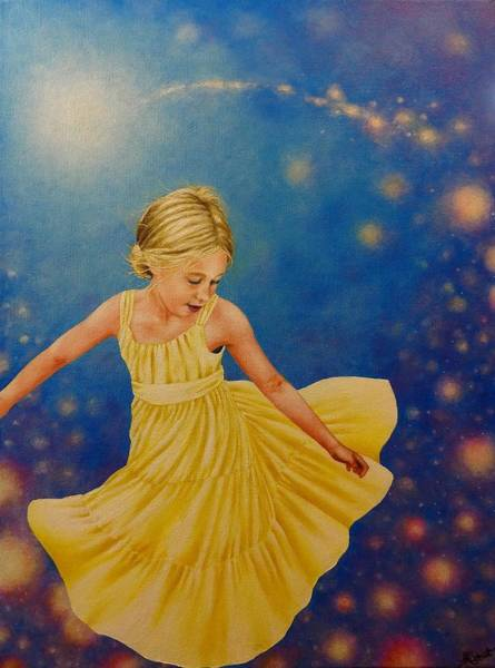 Painting - Dreamer - Painting by Ashley Koebrick Schmidt