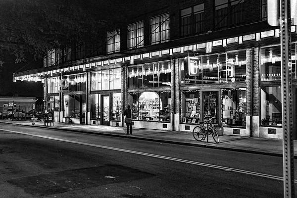 Photograph - Daylight Building At Night by Sharon Popek