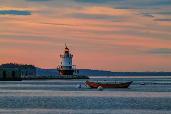 Photograph - Day's End At Spring Point by Rick Berk
