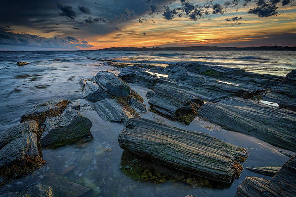 Photograph - Day's End In Kettle Cove by Rick Berk