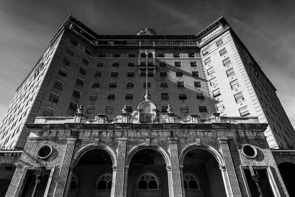 Wall Art - Photograph - Days Gone By At The Baker Hotel by Stephen Stookey