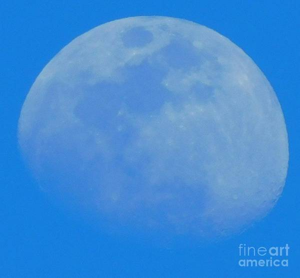 Wall Art - Photograph - Daytime Moon by Michelle Russell