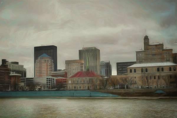 Photograph - Dayton In Winter by Jack Wilson