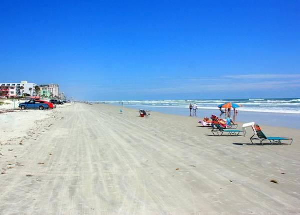 Beach Holiday Photograph - Daytona Beach, Florida by J.castro