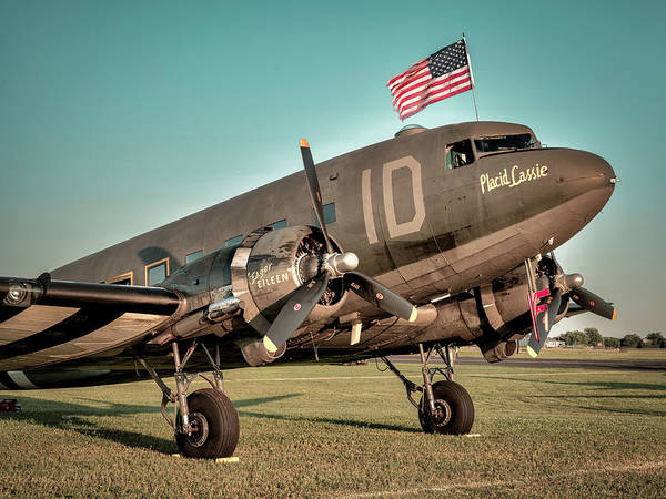 Photograph - Dc-3 Or C-47 by Laura Hedien
