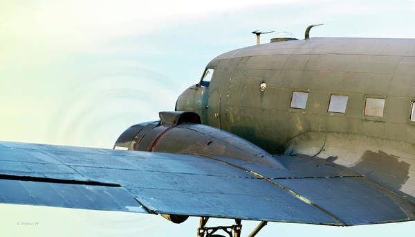 Wall Art - Photograph - Dc-3 Simulated Flight by Brian Wallace