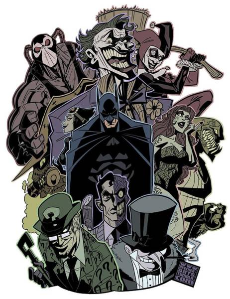 Robin Digital Art - Dc Batman by Geek N Rock
