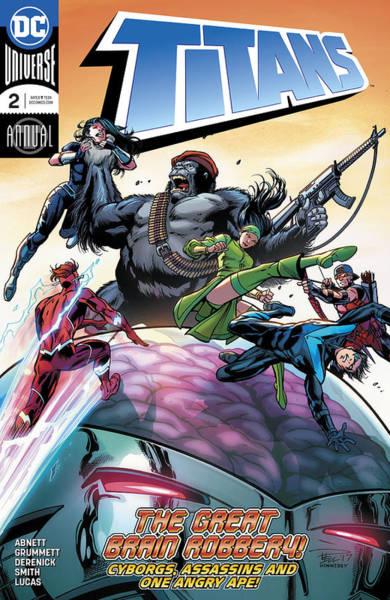 Robin Digital Art - Dc Comics Universe Titans by Geek N Rock