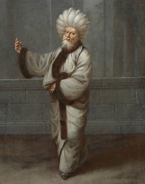 Painting - De Kazasker, Rechter by Jean Baptiste Vanmour