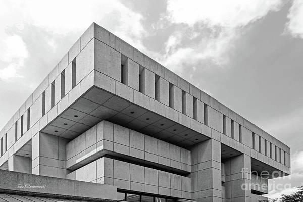 Photograph - De Paul University Schmitt Academic Center by University Icons