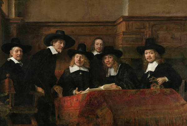 Painting - De Staalmeesers  by Rembrandt