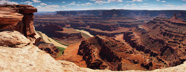 Wall Art - Photograph - Dead Horse Point State Park Panoramic by Jimkruger