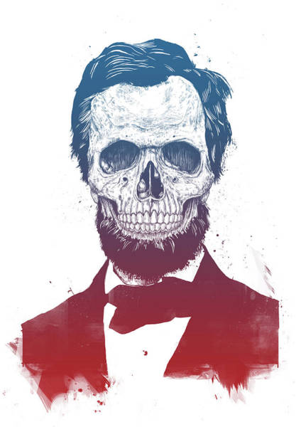 Wall Art - Drawing - Dead Lincoln by Balazs Solti