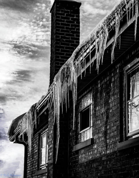 Photograph - Deadly House Of Ice Daggers by Rich Ackerman