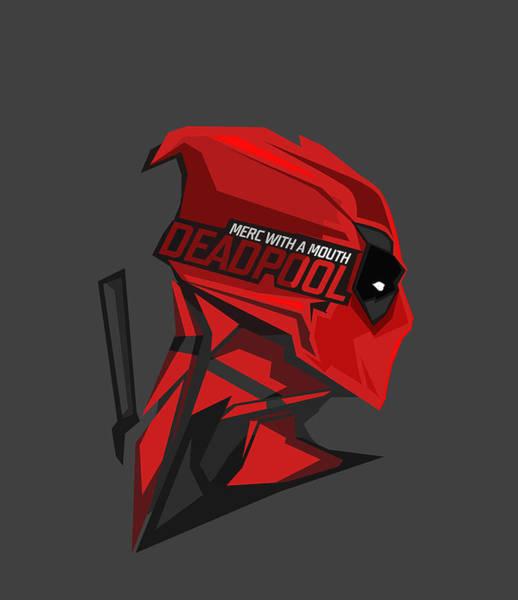 Wall Art - Digital Art - Deadpool 6 by Geek N Rock