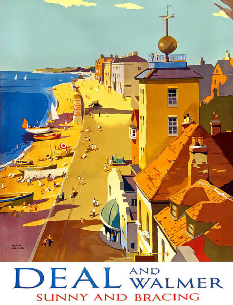 Seaside Digital Art - Deal And Walmer by Long Shot