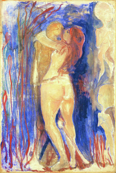 Wall Art - Painting - Death And Life - Digital Remastered Edition by Edvard Munch