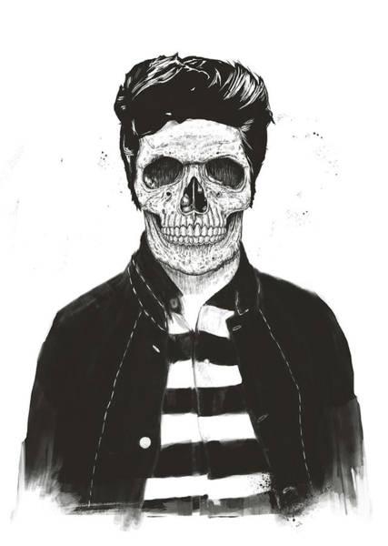 Fashion Drawing - Death Fashion by Balazs Solti