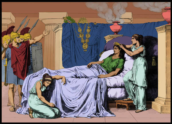 Photograph - Death Of Cleopatra, Queen Of Egypt, 30 by Science Source