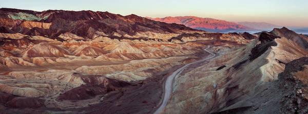 Death Valley Photograph - Death Valley Badlands by Thorsten Scheuermann