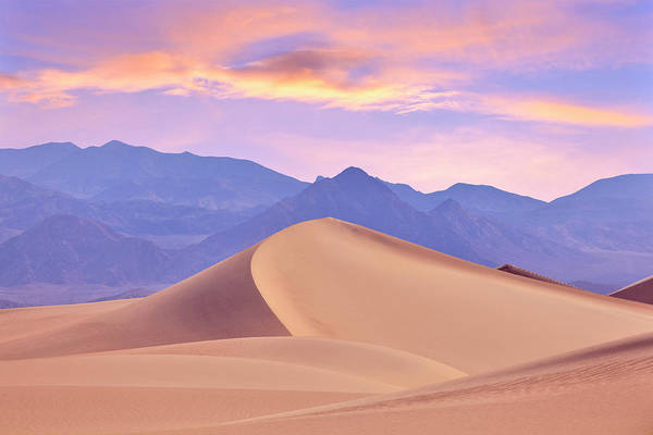 Photograph - Death Valley Dunes by Giovanni Allievi