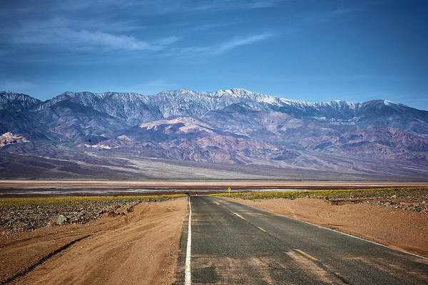 Wall Art - Photograph - Death Valley Road by Paul Freidlund