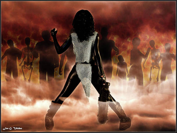 The Undead Photograph - Deathstalker Vs Evil Dead by Jon Volden