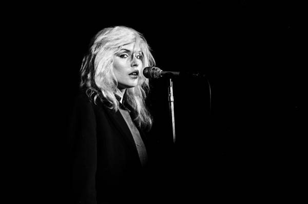Horizontal Photograph - Debbie Harry Performs Live by Richard Mccaffrey