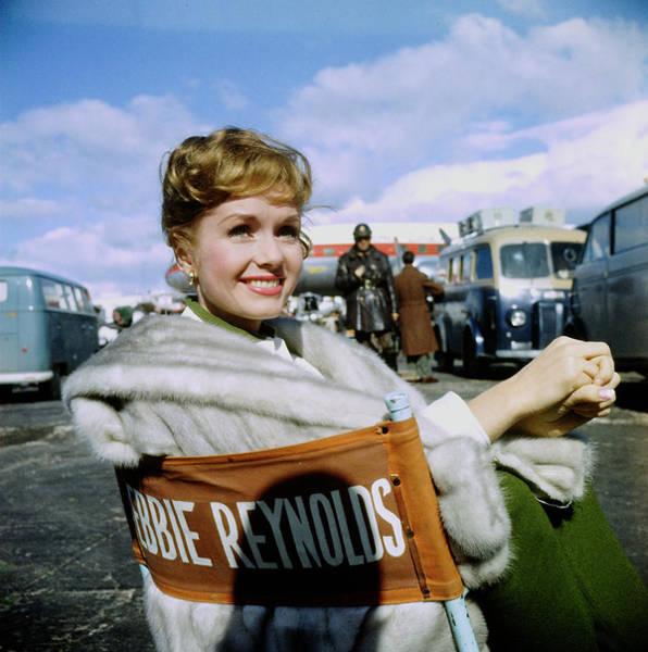 Photograph - Debbie Reynolds by Loomis Dean