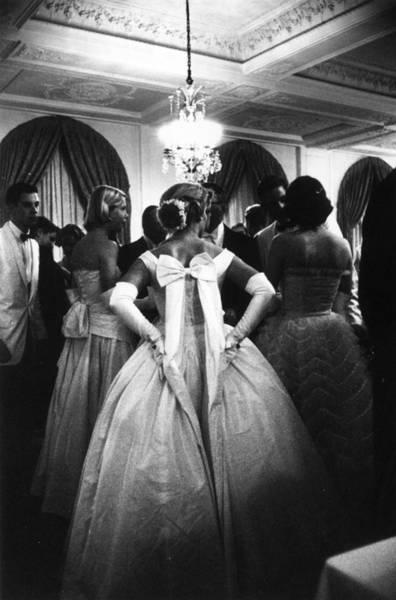 Evening Wear Photograph - Debutante Ball by Slim Aarons